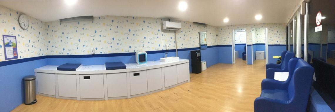 Nursery room bandara soekarno hatta terminal 1 B