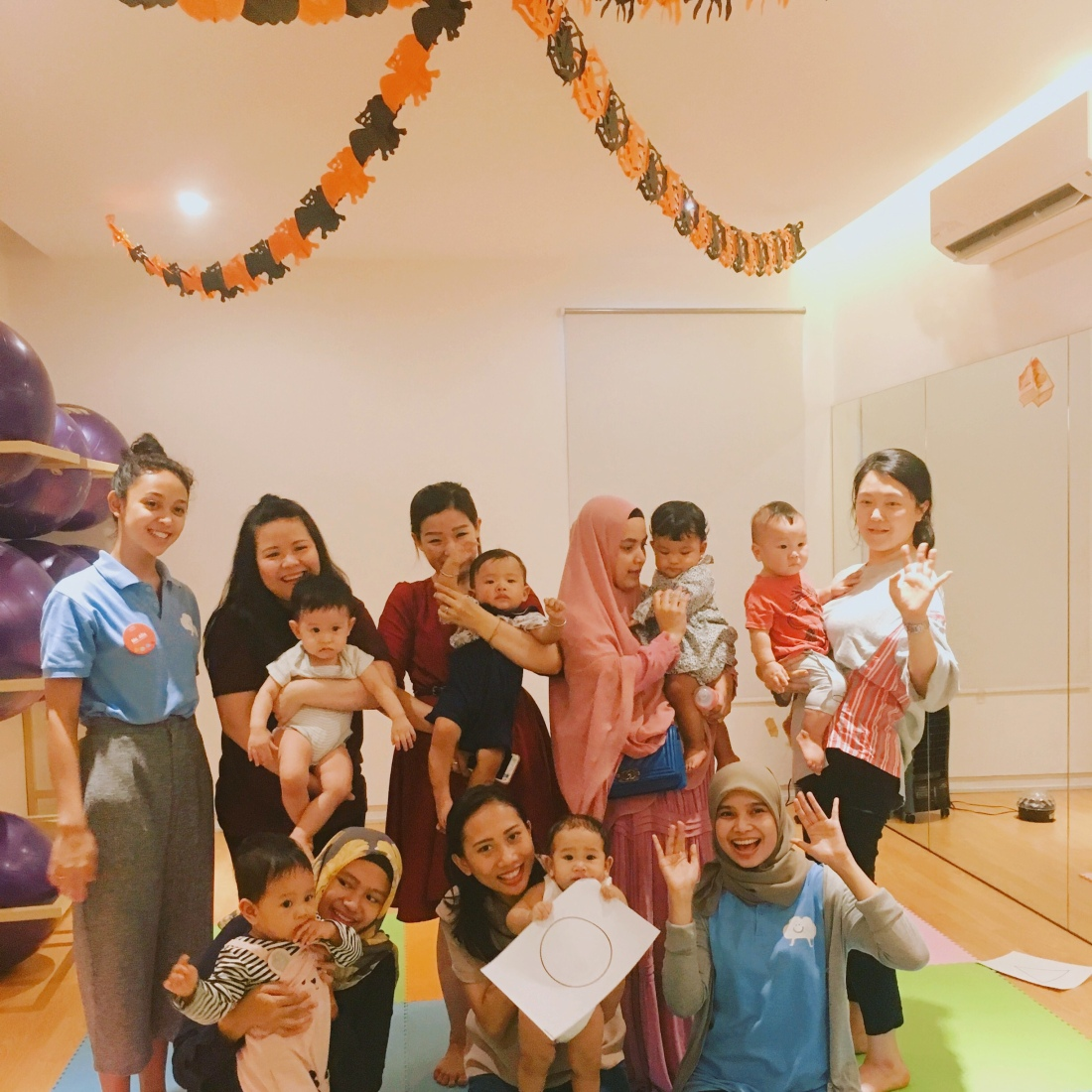 Kindy cloud baby class buba n bump kemang